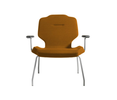 RH Lounge with armrests by SB Seating
