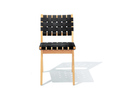 Risom Side chair Black Webbing