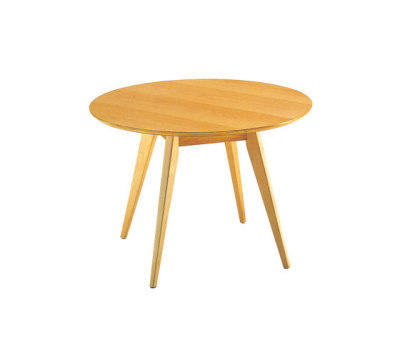 Risom Table Maple Base & Top