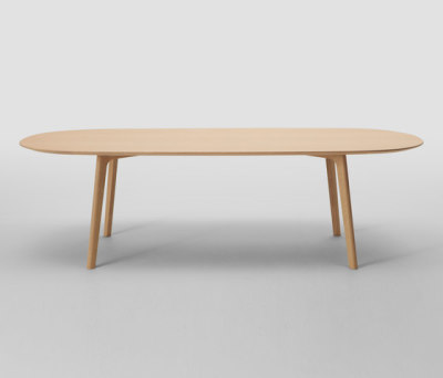 Roundish Table 240 (Oval) by MARUNI