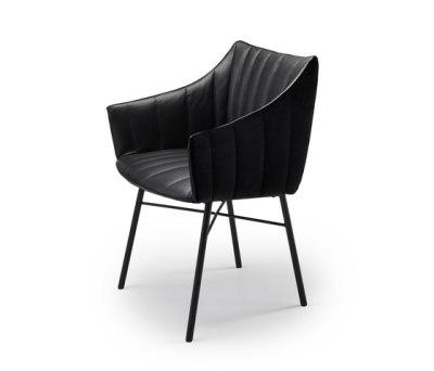 Rubie Side Chair by Freifrau Sitzmöbelmanufaktur