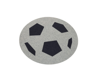 Rugs figurative, football by HEY-SIGN