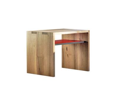 SC 15 Side table | Wood | Wood–HPL by Janua / Christian Seisenberger