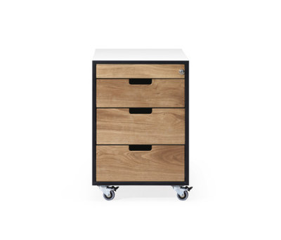 SC 30 Wheeled drawer | HPL | HPL-Wood by Janua / Christian Seisenberger