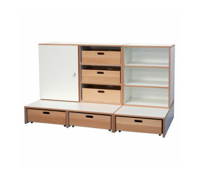 Shelf Combination DBF-652-1-10 by De Breuyn