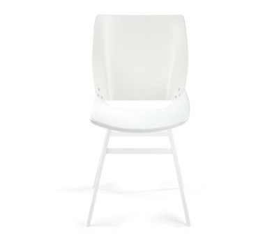 Shell Dining Leather Seat by Rex Kralj