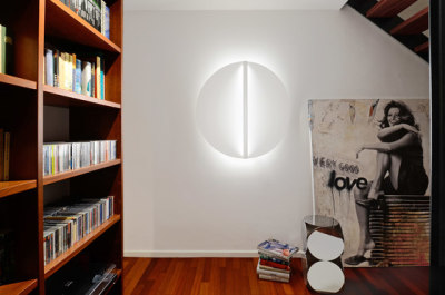 Shield ceiling & wall - round shape by Millelumen