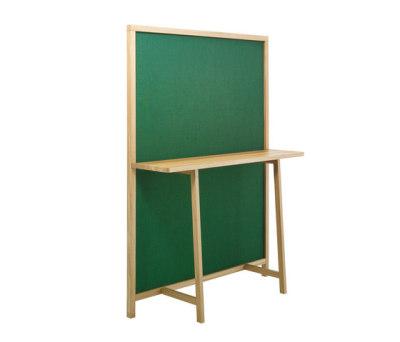 Shoji | 715 Green Fabric, Oak Frame