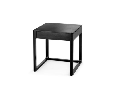Side table with drawer by Wittmann