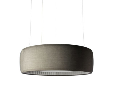 Silenzio Ceiling, Ø 148.5cm,dark grey 152