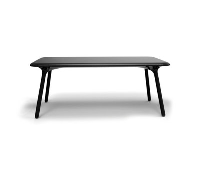 Sloo table - rectangular Black