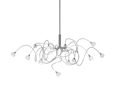 Snowball pendant light 12 by HARCO LOOR