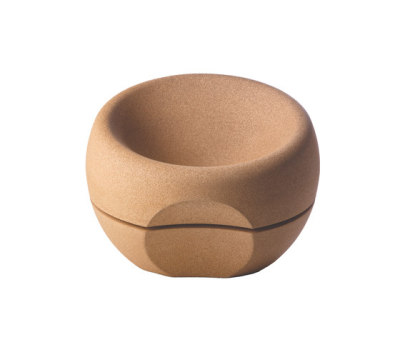 Spherical Cork Armchair by Movecho