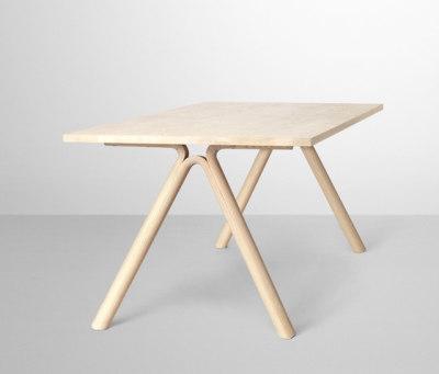 Split Dining Table Oak