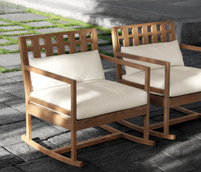 Square Armchair by Meridiani