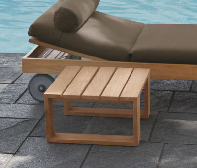 Square Lounge bed by Meridiani