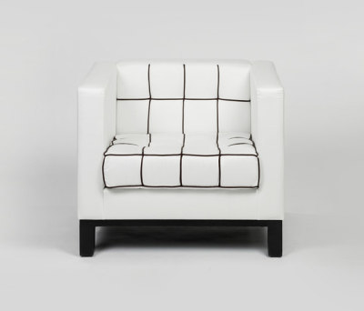 Stella Quadra armchair by Lambert