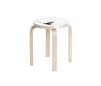 Stool E60 Moomin | Little My by Artek
