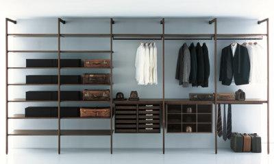 Storage Walk-in Closet by Porro