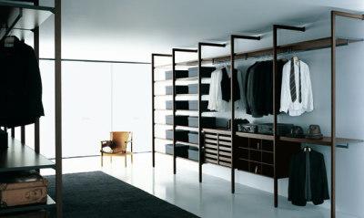 Storage Walk-in Closet by Porro
