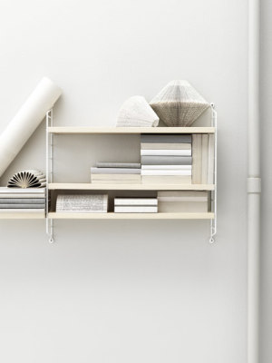 string pocket ash/white by string furniture