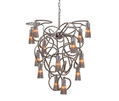 Sultans of Swing chandelier conical by Brand van Egmond