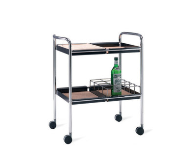Supporter serving trolley by Materia
