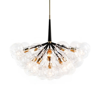 Supra Bubble Chandelier by PELLE