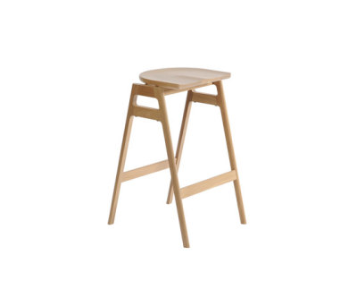 Svelto stacking bar stool by Ercol
