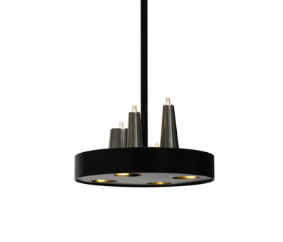 Table d'Amis hanging lamp round by Brand van Egmond