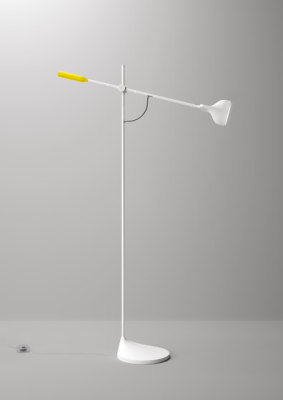 Tail Floor lamp by FontanaArte