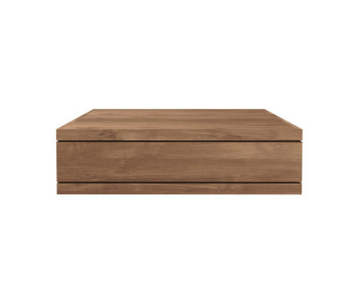 Teak Burger coffee table 110 x 110 x 32 cm