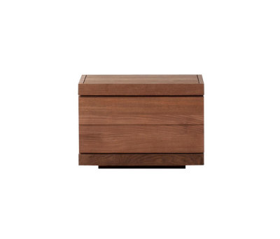 Teak Burger nightstand by Ethnicraft