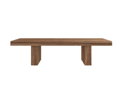 Teak Double bench by Ethnicraft