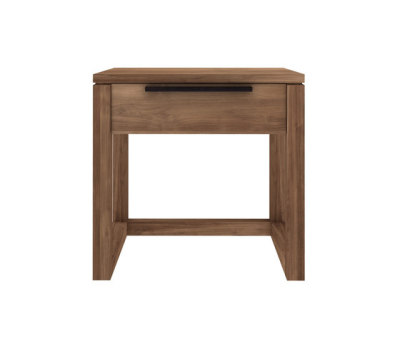 Teak Light Frame night stand 48 x 44 x 48 cm