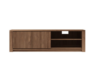 Teak Lodge TV cupboard 160 x 46 x 46 cm