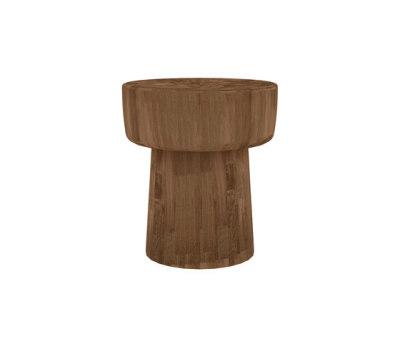 Teak Pop stool by Ethnicraft