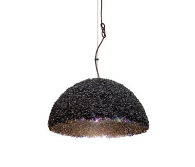 The Duchess pendant lamp grey medium by mammalampa