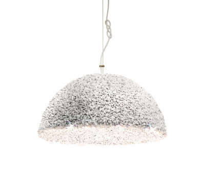 The Duchess pendant lamp white medium by mammalampa