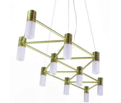 The Matrix Chandelier by Martin Huxford Studio