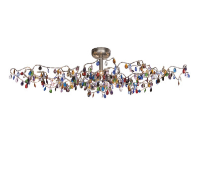 Tiara Oval Ceiling light 15-multicolor by HARCO LOOR