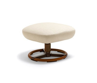 Tilt Footstool by Giorgetti