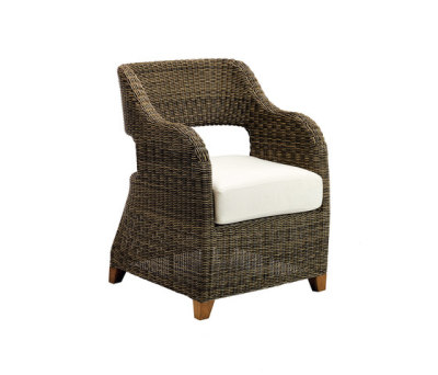 Time lounge armchair by Ethimo