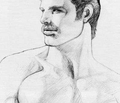 Tom of Finland untitled, 1980 by Henzel Studio