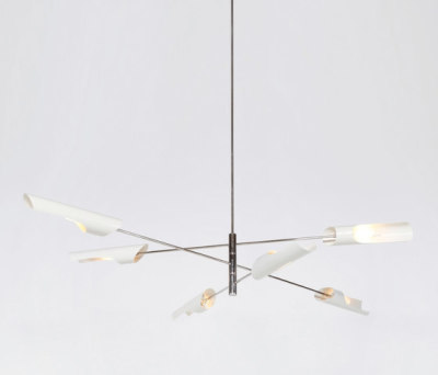 Torroja Cross Chandelier No 425 by David Weeks Studio
