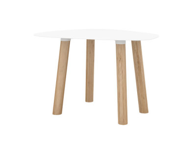 Turtle Table 45 White