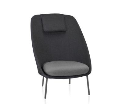 Twins High armchair Batyline Senso by Expormim