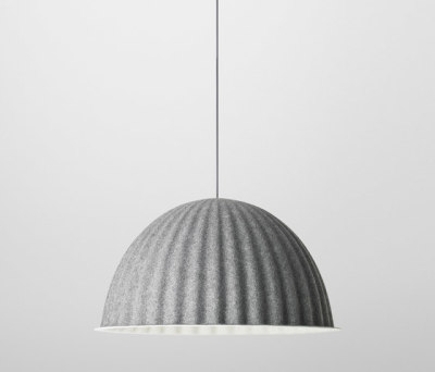 Under The Bell Pendent Lamp Grey