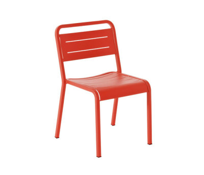 Urban chair - set of 4 Scarlet Red