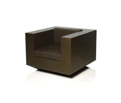 Vela armchair Bronze